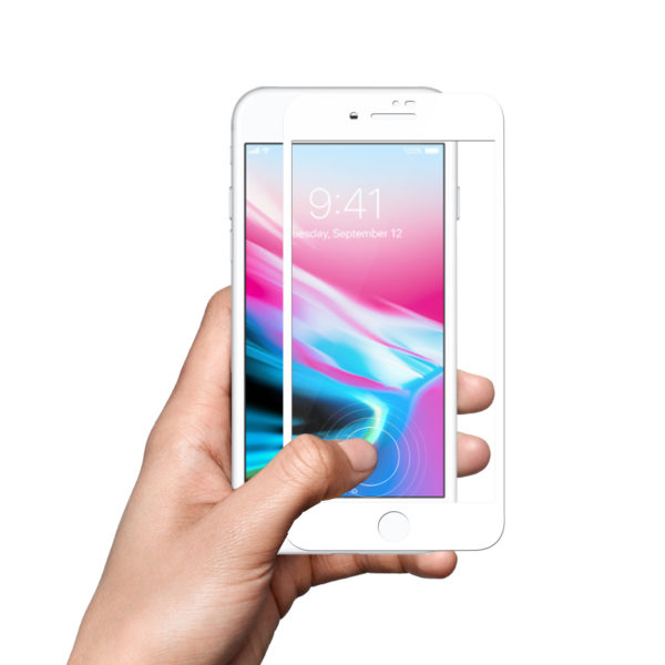 iPhone 7 7+8 8+ 3D white (5)
